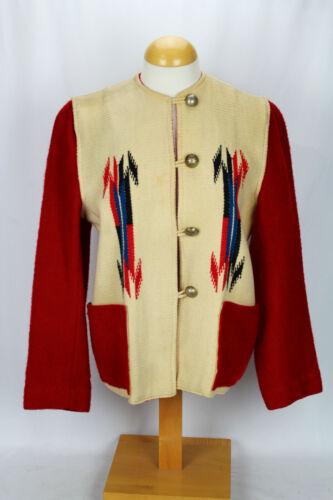 RARE Vintage Ganscraft Chimayo Blanket Navajo Ind… - image 1