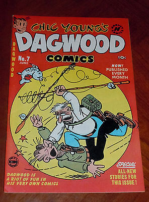 DAGWOOD #7 (1951) VF-NM cond. (9.0)  LITTLE IODINE , LITTLE KING  File Copy!