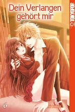 Dein Verlangen gehört mir 6 - Deutsch - Tokyopop - Manga - NEUWARE