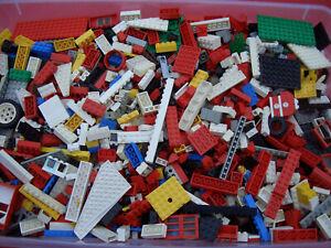 1-KG-Lego-Kiloware-19-99-kg-Steine-Platten-Raeder-Sondersteine-gemischt-gebr