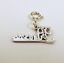 Sterling-Silver-034-Princess-034-Charm-on-Silver-Spring-Ring-For-Charm-Bracelets-0874 thumbnail 4