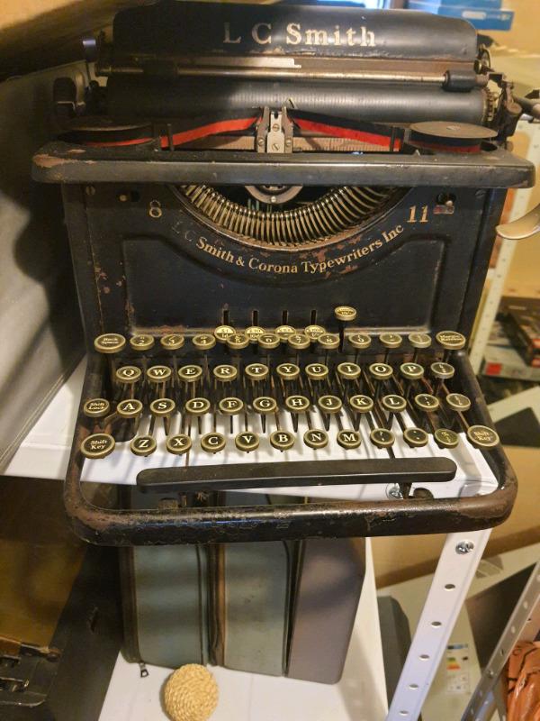 Smith Corona Antique Typewriter