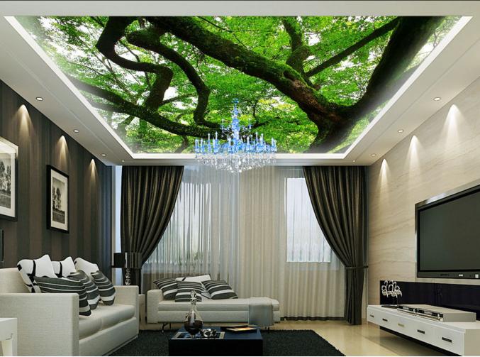 3D Tree Branch Grün 8 Wall Paper Wall Print Decal Wall Deco AJ WALLPAPER Summer