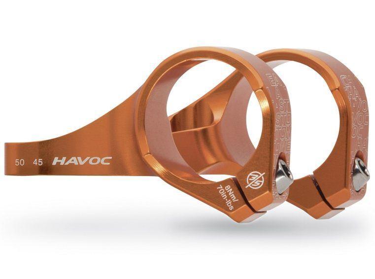 Easton Havoc 35 Bolt - On Stem double bridge fork Fox Boxxer Orange