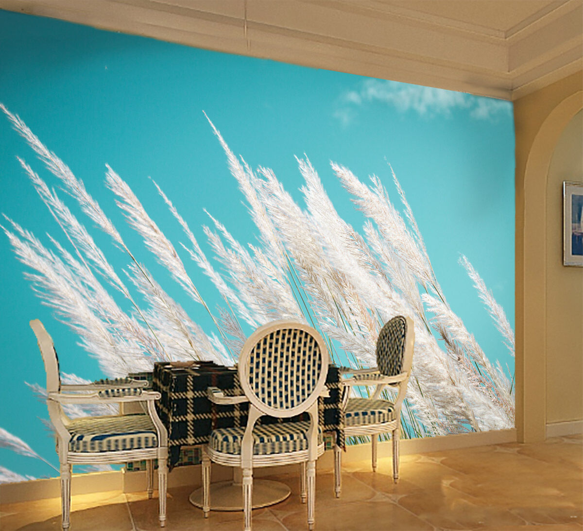 3D Weeds Flowers 740 Wall Paper Wall Print Decal Wall Deco Wall Indoor Murals