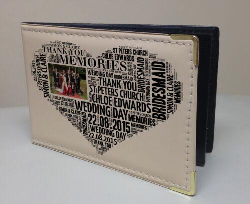 Dama Regalo De Bodas libro de memoria Personalizado de imitación de cuero foto álbum