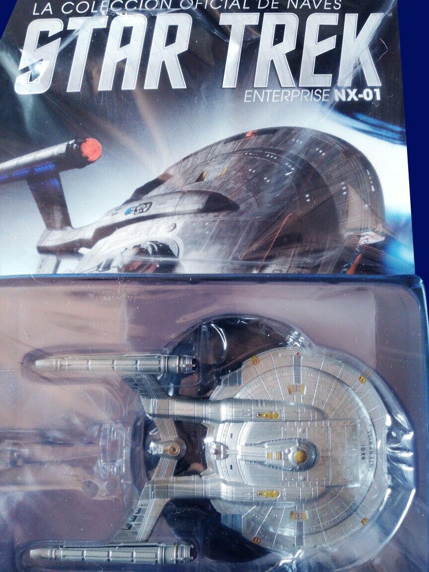 edición limitada Enterprise NX-01 - Estrella Trek Trek Trek   4 la Nación plataina  tomamos a los clientes como nuestro dios