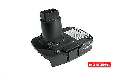 Battery adapter for DeWALT XRP power tools, machines 18v to 20v