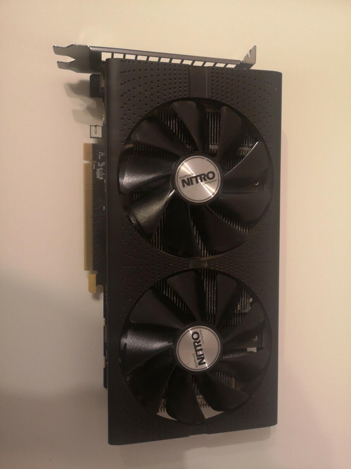 AMD Radeon Saphire RX470 4GB Mining Card faulty