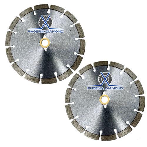 "2Pack 8/"" Wet//Dry Diamond Saw Blade All Purpose for Concrete Stone Brick Masonry"