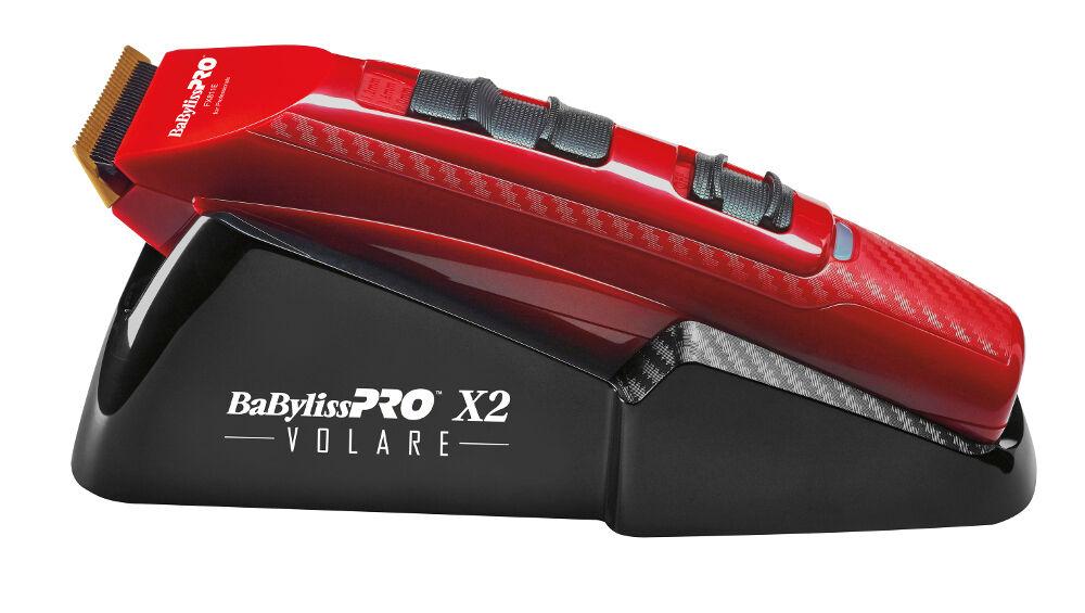 Babyliss Pro FX811 Re Forfex Volare X2 Professionnel Tondeuse Poils de Nez Rouge