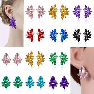 Fashion-Wedding-Bridal-Wing-Flower-Drop-Dangle-Earrings-Women-Charm-Jewellery