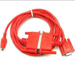 SC09 SC-09 for Mitsubishi PLC MELSEC FX/&A Series Programming Cable Red