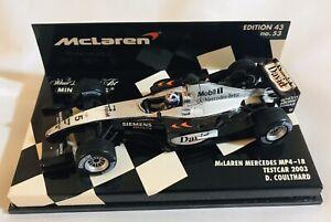Minichamps-Mclaren-Mercedes-MP4-18-2003-Testcar-D-Coulthard