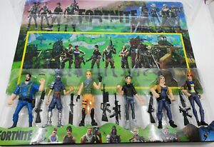 Fortnite-12cm-tall-Action-figures-set-of-6-AU-Toy-Kids-Boys-Gift-Cake-toppers
