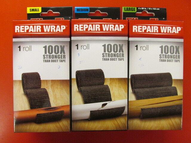 3 pk Large Fiber Fix FiberFix Fiberglass Repair Tape Roll Multi Purpose 4 x 60in