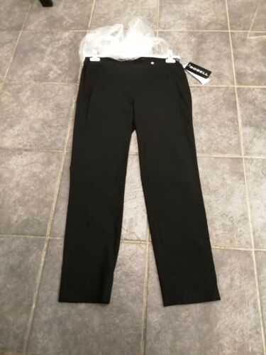 BELLA 7//8 ANKLE GRAZERS TROUSERS SIZE 8,10,12,14,16,18,20 BNWT ROBELL BLACK