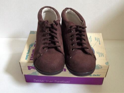 Perfection by Jumping Jacks Walking Toddler Shoes Brown Nubuck Shoes //Boot NIB
