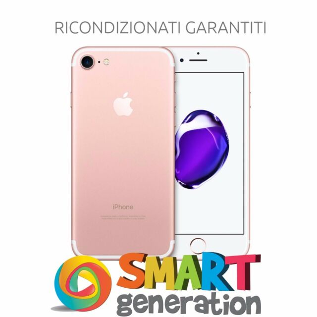 Apple iPhone 7 32GB Rose Gold / Oro Rosa - Ricondizionato Garantito - MN912RM/A