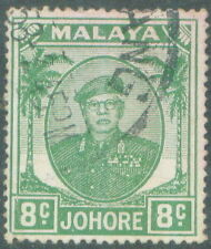 Johor 8c 1949 used # A 56