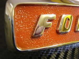 Fordson-Super-Major-Bonnet-Side-Badge-X1-Best-Available-better-than-original