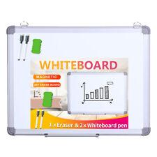 Viz Pro Magnetic Dry Erase Board Wall Hanging Whiteboard Student Writing Board