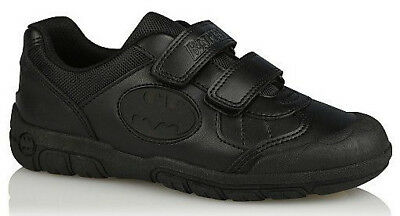 Boys Black Harry Potter 2 Strap School Shoes Sizes 12Jnr 6 UK