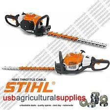STIHL THROTLE CABLE FOR HS81 HEDGE TRIMMERS  4237-182-3201 NEW OEM {BT