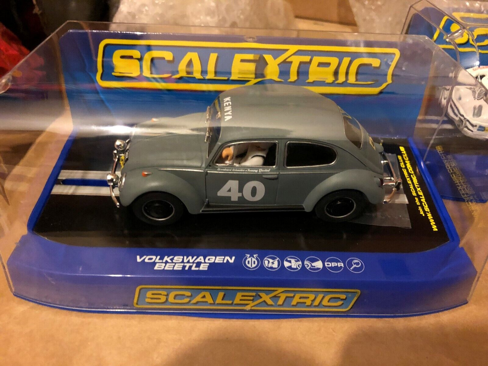 Scalextric VW Beetle East Africa Safari Rally C3642 MB DPR