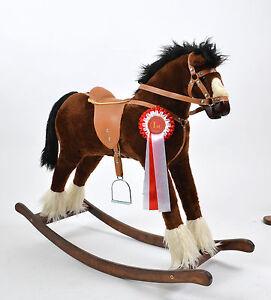 NEW-Large-Beautiful-Handmade-Rocking-Horse-TWISTER-Schukelpferd-from-ALANEL