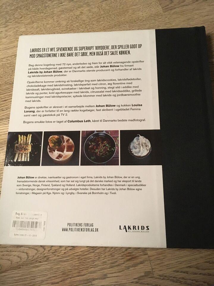 Bülow Lakrids Opskrifter lakrids i maden, johan bülow, emne: – dba.dk – køb og salg af nyt og