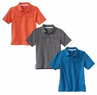 Sonoma Life And Style Boys Stripe Polo Shirt Short Sleeve Kids