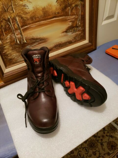 TIMBERLAND PRO SERIES SIZE 12M STEEL TOE HIKING / WORK BOOT / MOTORCYCLE BOOTS