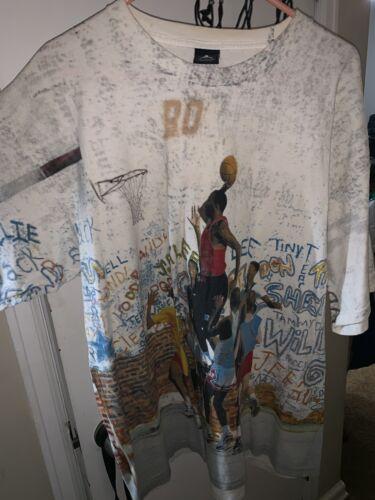 Vintage Nike Michael Jordan Graffiti Playground T-