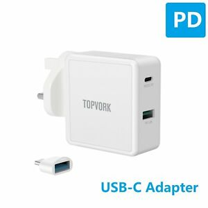 45W-PD-USB-C-Charger-For-Dell-HP-Lenovo-ASUS-Xiaomi-Laptop-Type-C-Power-Adapter