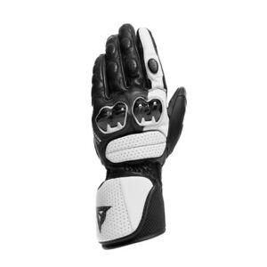 DAINESE-Impeto-gloves-Racing-Handschuhe-schwarz-weiss-Gr-M-8-Knoechelschutz