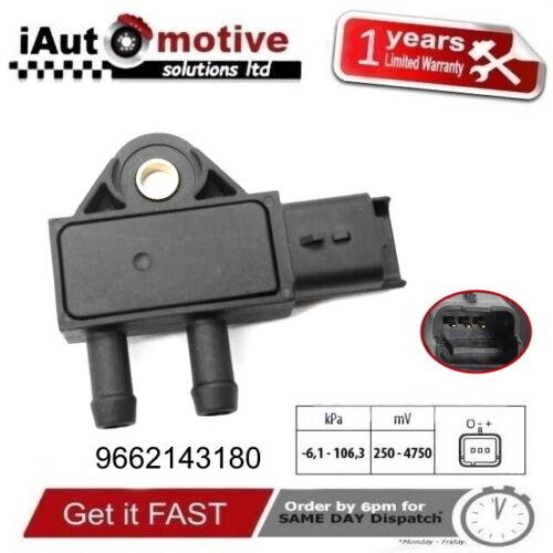 DPF Diesel Particulate Filter Sensor Peugeot Citroen Fiat Mini 9662143180 1618Z9