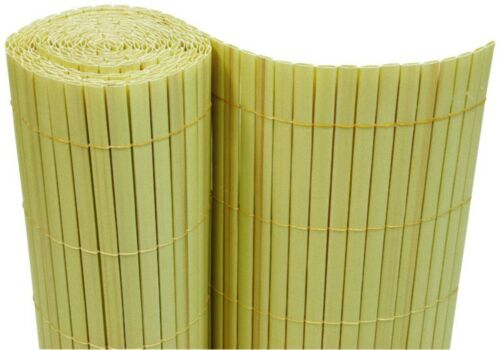 PVC Visual Protection Mat 180x500 cm Bamboo Balcony Blinds Fence Screen