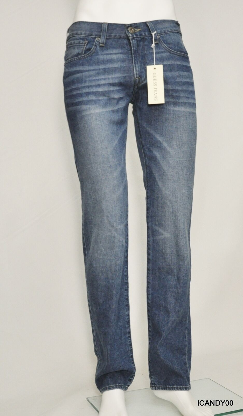 Nwt  Guess LINCOLN Slim Straight Leg Denim Jeans Pants Altitude 2 Wash 30-32