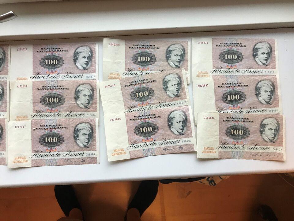 Danmark, sedler, 100
