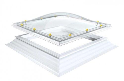 Lichtkuppel Tageslichtmaß 70x70cm  Dachöffnungsmaß 90x90cm