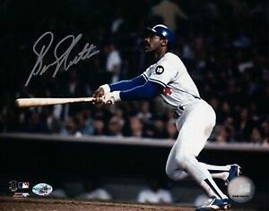 Bill-North-Signed-8X10-Photo-Autograph-Los-Angeles-Dodgers-Home-Run-Cut-Auto-COA