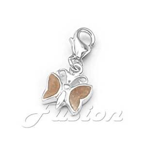 Solid .925 Sterling Silver Jigsaw Piece Charm Clip-on ADD CHARM TO BRACELET CH17