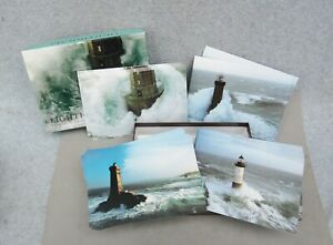 Lighthouses-Note-Card-Boxed-Set-20-by-Jean-Guichard-6-3-4-034-x-4-1-2-034-Photography