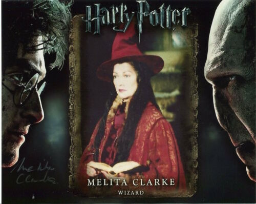 Wizard in Harry Potter F763 Melita Clarke Photo Signed In Person