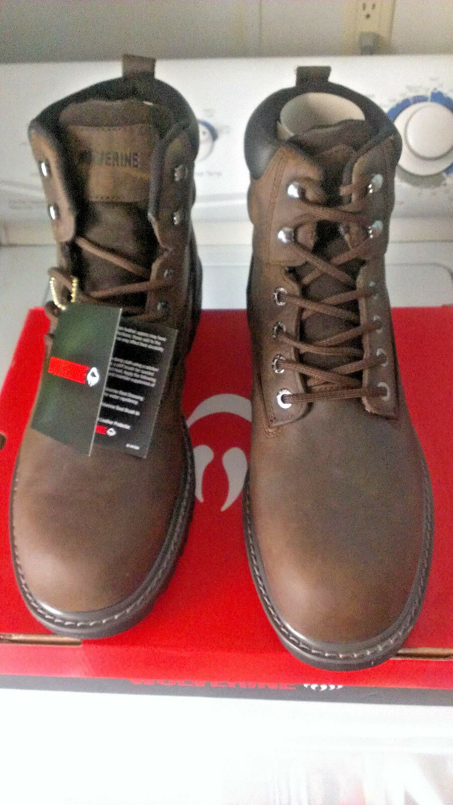Wolverine Steel Toe Work Boots Floorhand W10633 12M (NEW IN BOX)