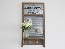 WASHBOARD Wall Da Appendere Scaffale Display Scaffale Vintage Industriale Stile Warehouse
