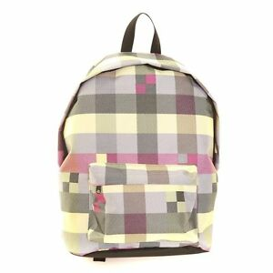 Hawkins-Yellow-Multi-Colour-Check-Backpack-School-Holidays-Music-Festivals