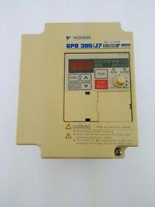 YASKAWA GPD 305//J7 AC DRIVE CIMR-J7AM40P7 0.75kW 400V 3-PH  1B