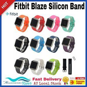 New-Silicone-Gel-Band-Strap-Bracelet-Wristband-for-FITBIT-BLAZE-Sport